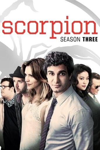 Scorpion 3ª Temporada - Poster