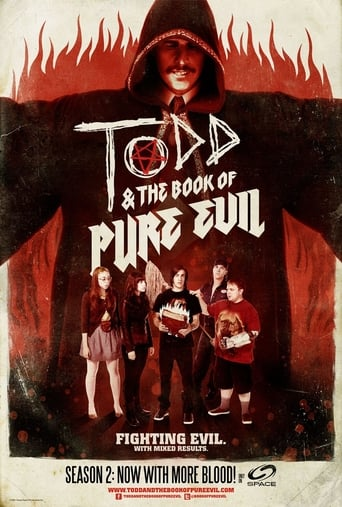 Todd and the Book of Pure Evil Poster