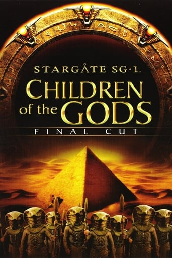 Poster of Stargate SG-1: Children of the Gods