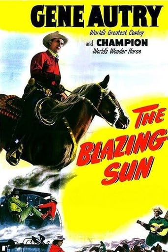 Poster of The Blazing Sun