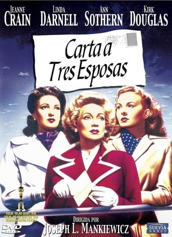 Poster of Carta a tres esposas