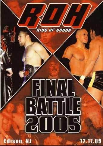 Watch ROH Final Battle 2005 2005 full online free