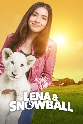 Lena and Snowball Poster