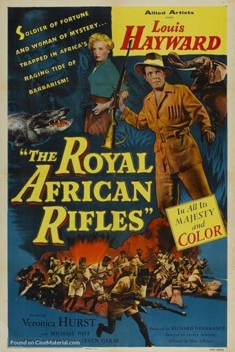 Poster of Los fusileros reales de África