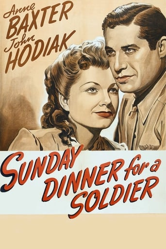 Poster of Sunday Dinner for a Soldier