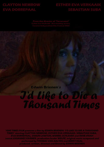 Poster of I'd Like to Die a Thousand Times