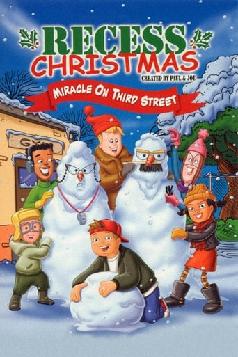 Poster of Recess Christmas: Miracle On Third Street