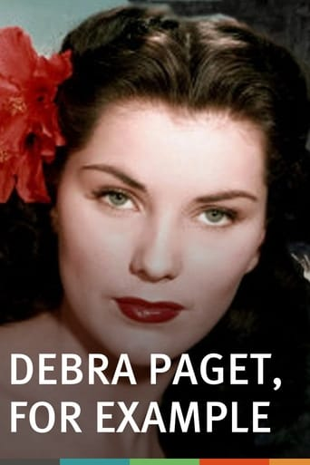 Poster of Debra Paget, For Example