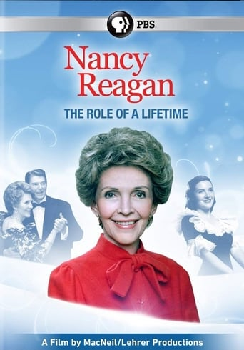 Nancy Reagan: The Role of a Lifetime movie poster