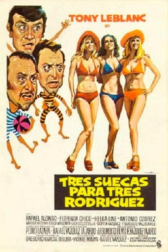 Poster of Three Swedes for Three Rodríguez's