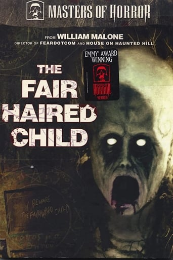Poster of The Fair Haired Child