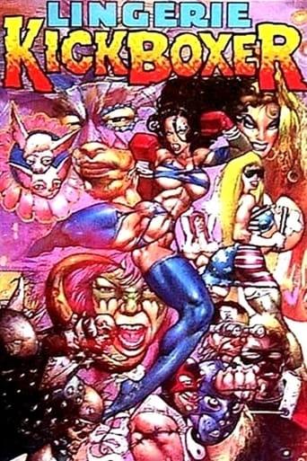 Poster of Lingerie Kickboxer