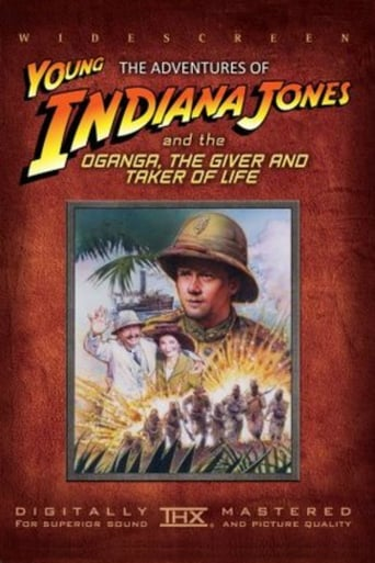 Poster of The Adventures of Young Indiana Jones: Oganga, the Giver and Taker of Life