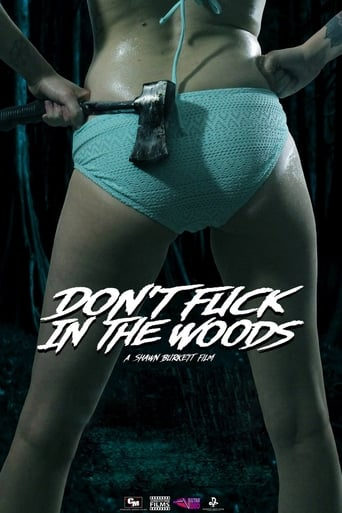 Poster of Don't Fuck in the Woods