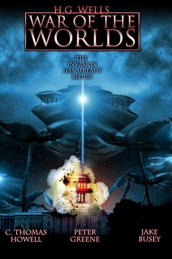 Poster of H.G. Wells' War of the Worlds
