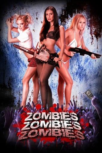 Poster of Zombies! Zombies! Zombies!