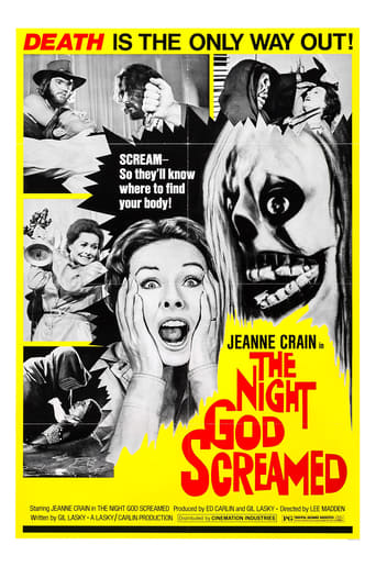 Poster of The Night God Screamed