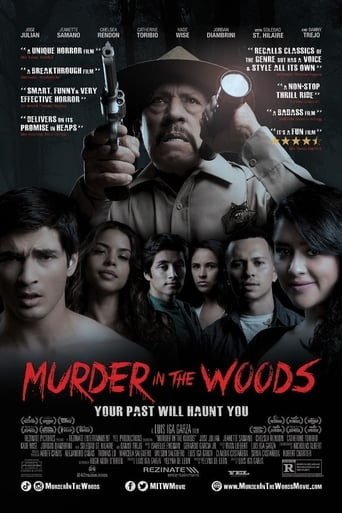 Poster Murder in the Woods