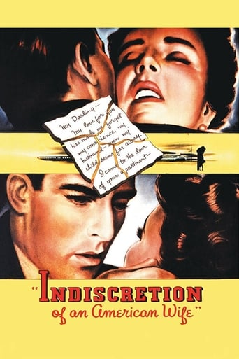 Poster of Indiscretion of an American Wife