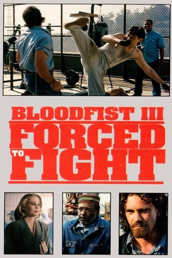 Poster of Bloodfist III: Forced to Fight