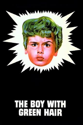 Poster of The Boy with Green Hair