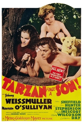 voir film Tarzan trouve un fils  (Tarzan finds a son) streaming vf