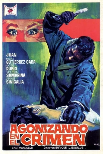 Poster of Agonizing in Crime