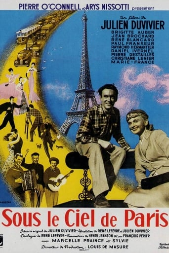 Under the Paris Sky Movie Poster