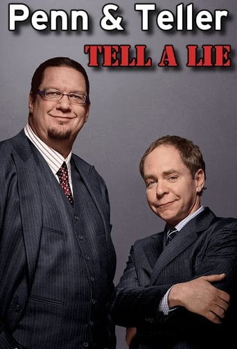 Poster of Penn & Teller Tell a Lie