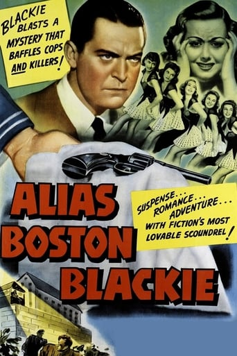 Poster of Alias Boston Blackie