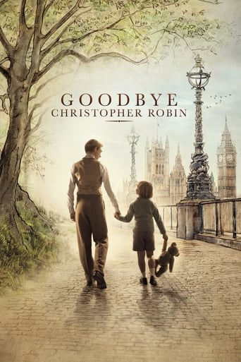Goodbye Christopher Robin poster