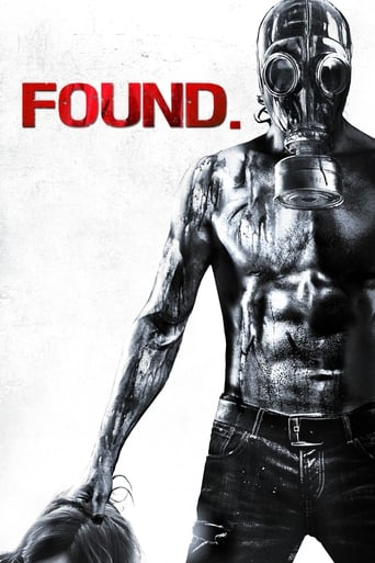 Found (2012) - poster