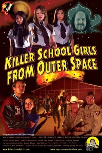 Poster of Killer School Girls from Outer Space