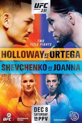 Poster of UFC 231: Holloway vs. Ortega
