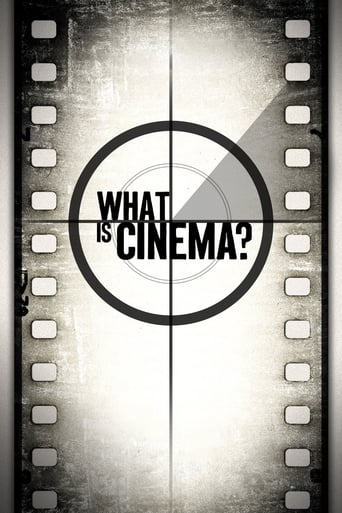 Poster of What is Cinema?