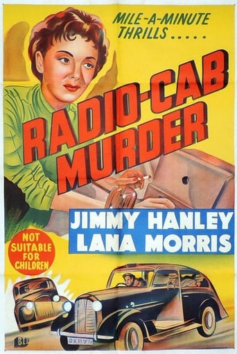 Poster of Radio Cab Murder