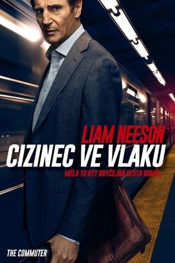 Poster of Cizinec ve vlaku