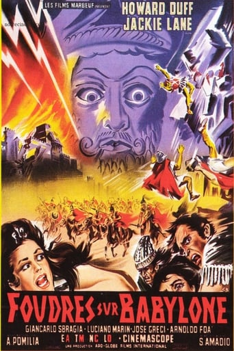 Poster of Le sette folgori di Assur