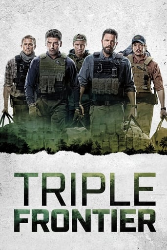 Poster for the movie, 'Triple Frontier'