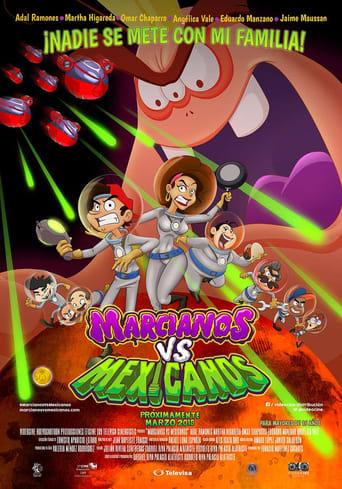 Poster of Martians vs Mexicans