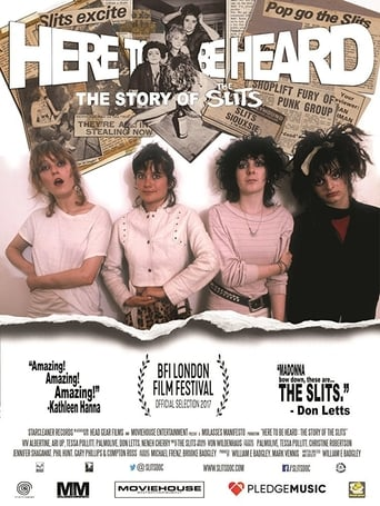 Watch Here to be Heard: The Story of The Slits full movie online 1337x
