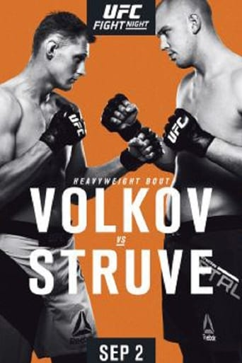 Poster of UFC Fight Night 115: Volkov vs. Struve