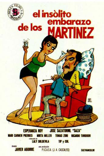 Poster of El insólito embarazo de los Martínez