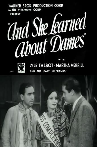 Poster of And She Learned About Dames