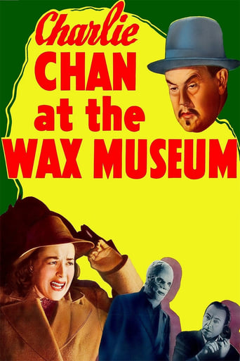 Poster of Charlie Chan at the Wax Museum