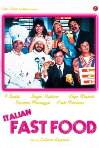 Poster of Italian Fast Food