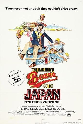 Poster of The Bad News Bears Go to Japan
