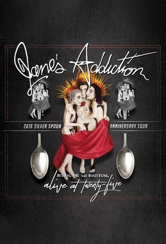 Poster of Jane's Addiction: Ritual de lo Habitual - Alive at 25