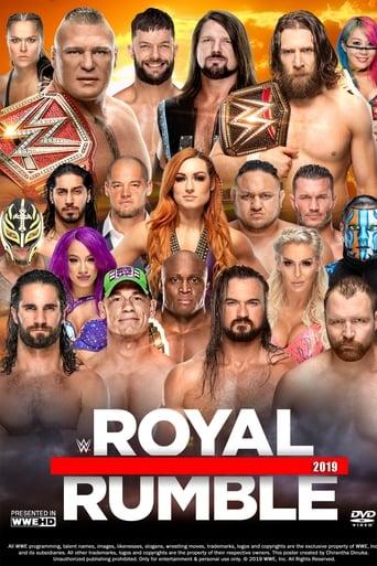 Poster of WWE Royal Rumble 2019