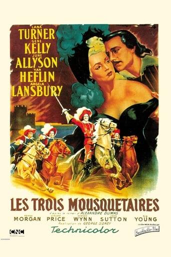 Poster of Les trois mousquetaires
